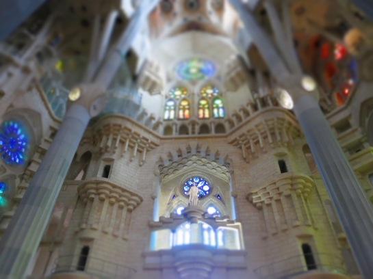 Sagrada Família, Barcelona. (Foto: Vanessa D'Amaro)